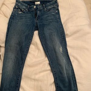 MOTHER SKINNY JEANS
